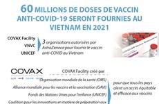 60 millions de doses de vaccin anti-COVID-19 seront fournies au Vietnam en 2021