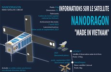 "Informations sur le satellite Nanodragon ""Made in Vietnam"""