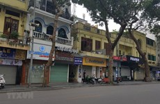 COVID-19: l'interdiction des rassemblements dans les lieux publics à Hanoï