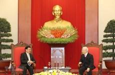 Élargissement des relations commerciales entre le Vietnam et le Laos