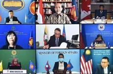 Le 18e Dialogue en ligne ASEAN-Canada