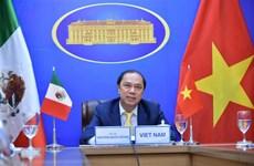 Le Vietnam et le Mexique encouragent leurs ministères et secteurs à coopérer sous diverses formes