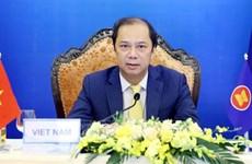 Réunion des ministres des Affaires étrangères ASEAN-Nouvelle Zélande