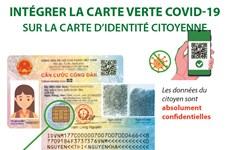 Intégrer la carte verte COVID-19 sur la carte d'identité citoyenne