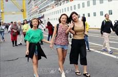 Plus de 2 000 croisiéristes arrivent à Da Nang le premier jour de l'An