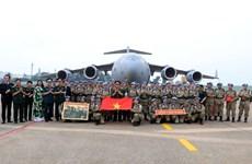 La force de maintien de la paix du Vietnam, empreinte de la diplomatie de défense du pays