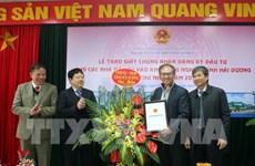Hai Duong attire 2 projets d'IDE dès le début de l'année 2019