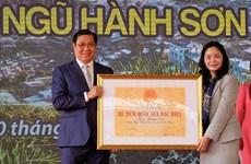 Ngu Hanh Son reconnu site national spécial