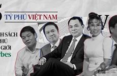 Cinq Vietnamiens parmi les plus riches du monde, selon le classement de Forbes en 2019