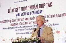 Le légendaire golfeur Greg Norman et NutiFood présentent la culture du café vietnamien dans le monde