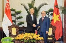 Ho Chi Minh-Ville et Singapour renforcent leur coopération