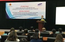 Samsung forme des experts en industries auxiliaires du Vietnam