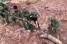 Appel à la lutte contre les bombes et les mines à Quang Tri