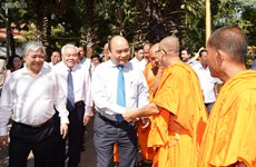 Têt Chol Chnam Thmay: le Premier ministre félicite les Khmers à Soc Trang