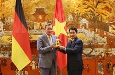 Hanoi et l'État libre de Thuringe (Allemagne) promeuvent leur coopération