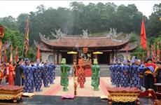 Rendre hommage aux ancêtres légendaires des Vietnamiens