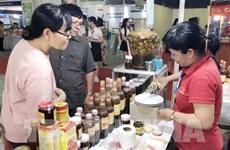 Ouverture de la foire-exposition «Honorer des marchandises vietnamiennes » à Ho Chi Minh-Ville
