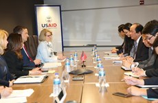 Promouvoir la coopération entre le Vietnam et l'USAID