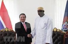 Renforcement des relations Vietnam-Gambie