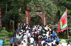 Phu Tho accueille plus de 7 millions de touristes à la Fête au temple des rois fondateurs Hung
