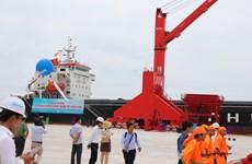 Le port international de Vinh Tan mis en service