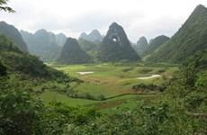 Honorer des valeurs du géoparc mondial de Cao Bang