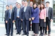Une délégation de haut niveau de Ho Chi Minh-Ville en tournée en Allemagne