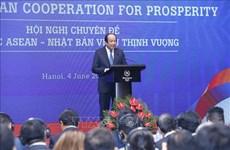 La conférence thématique de la coopération ASEAN-Japon pour la prospérité s'ouvre à Hanoi