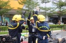 Le Vietnam participe à une compétition internationale de sauvetage en Malaisie