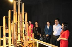 Inauguration d'une maison d'exposition sonore à Dak Nong