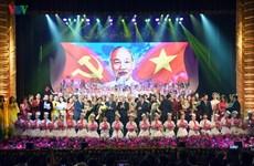 Un programme artistique en mémoire du président Ho Chi Minh à Hanoi