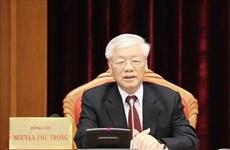 Nguyen Phu Trong adresse une lettre de félicitations au président de l'AIPA 40