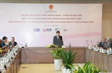 Conférence « Rencontre avec les ambassadeurs des pays du Moyen-Orient et d'Afrique 2019 » à Hanoi