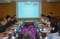 Vietnam-Japon : entraînement à la manœuvre des équipements poids lourd du génie