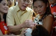 Philippines met en œuvre de la campagne de vaccination contre la polio
