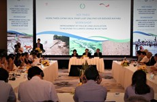 Perfectionnement des politiques sur la résilience au changement climatique