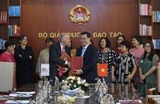 Le ministère de l'Education et de la Formation signe un accord-cadre de coopération avec l'AUF