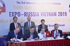 Opportunités de coopération d'investissement pour des entreprises vietnamiennes et russes