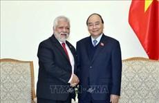 Le Premier ministre Nguyen Xuan Phuc reçoit l'ambassadeur vénézuélien