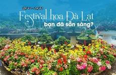 Le Festival des fleurs de Da Lat 2019 aura lieu du 20 au 24 décembre