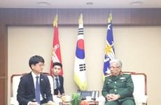 Vietnam-République de Corée : entrevue entre les vice-ministres de la Défense
