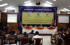 Un séminaire scientifique international sur le bouddhisme vietnamien au Laos