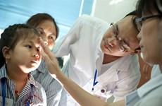 Soin ophtalmologique à des centaines de milliers d'enfants au Centre