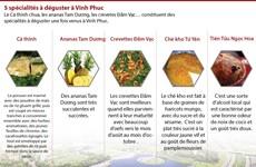 Cinq spécialités à déguster à Vinh Phuc