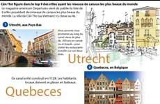 Cần Thơ figure dans le top 9 des villes ayant les réseaux de canaux les plus beaux du monde