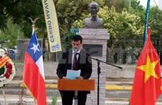 Achèvement de la restauration du parc portant le nom du Président Ho Chi Minh au Chili