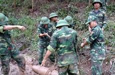 Soutien de la subsistance pour les victimes des bombes et des mines au Vietnam