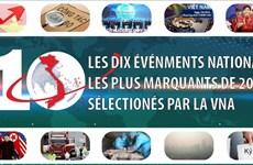 LES DIX ÉVÉNEMENTS NATIONAUX LES PLUS MARQUANTS DE 2019 SÉLECTIONÉS PAR LA VNA