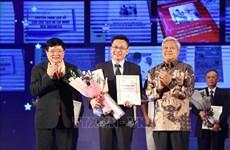 Remise des prix du concours d'écriture sur les relations Vietnam-Indonésie