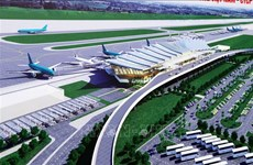 Mise en chantier de la gare T2 de l'aéroport international de Phu Bai
